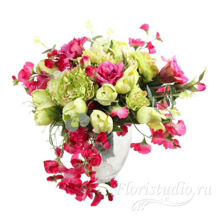 Купить искусственные цветы букет