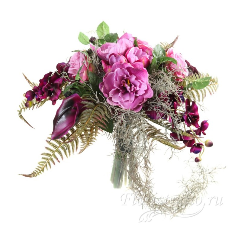 Элитные цветы спб купить, оформление свадебных букета из пионов
